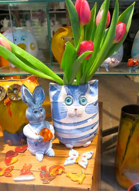 Adorable ceramics at Berger