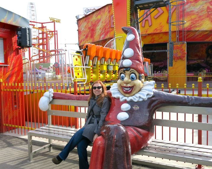 I am creeped out by clowns, but here, I am facing my fears!