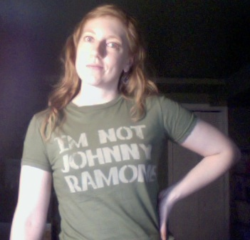 I'm not Rachel Barton Pine either, but I can see how I could be more easily mistaken for her.