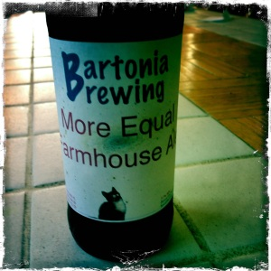 More Equal Farmhouse Ale
