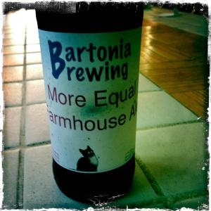 More Equal Farmhouse Ale
