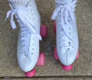 I've got a brand new pair of rollerskates