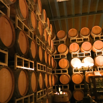 Barrels at Raymond Vineyards