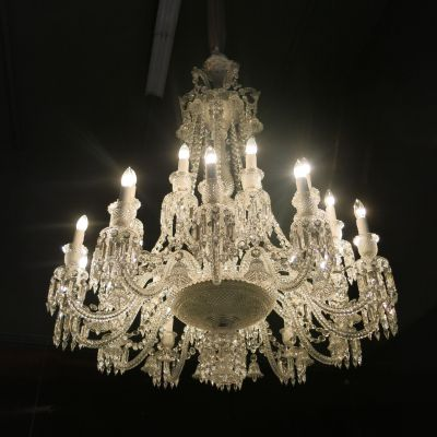Chandelier in the Crystal Cellar