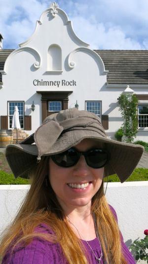 Chimney Rock selfie
