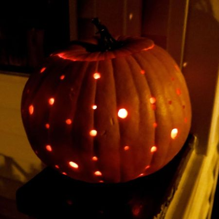 Pumpkins + power tools = pretty!