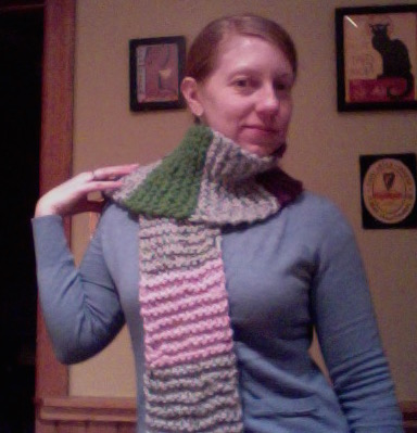 My first regular knitting project